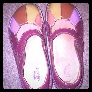 Spring Step Leather Shoes Preowned Good Condition